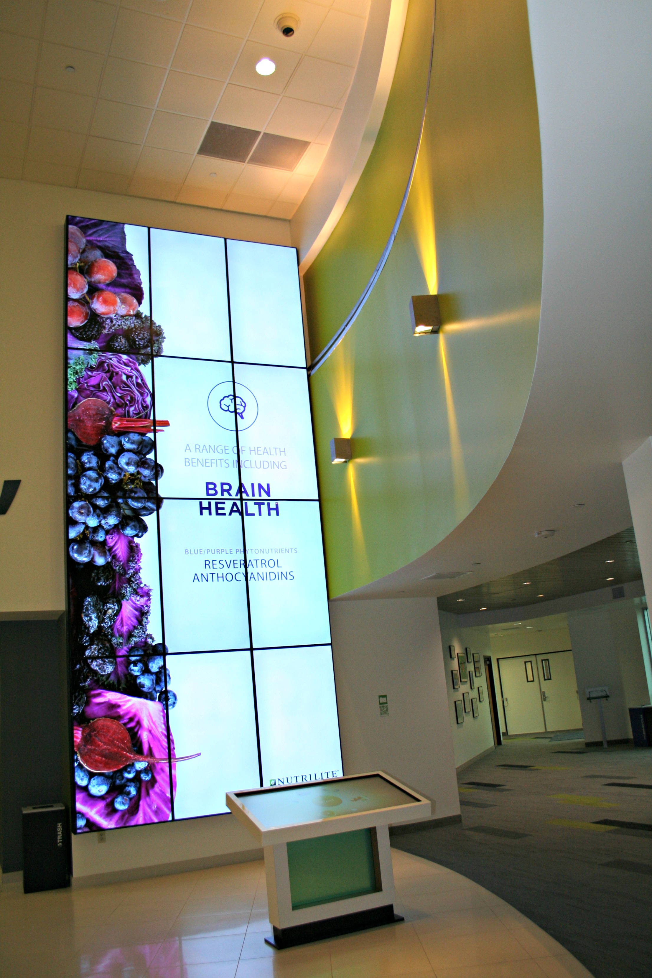 Nutrilite panel display