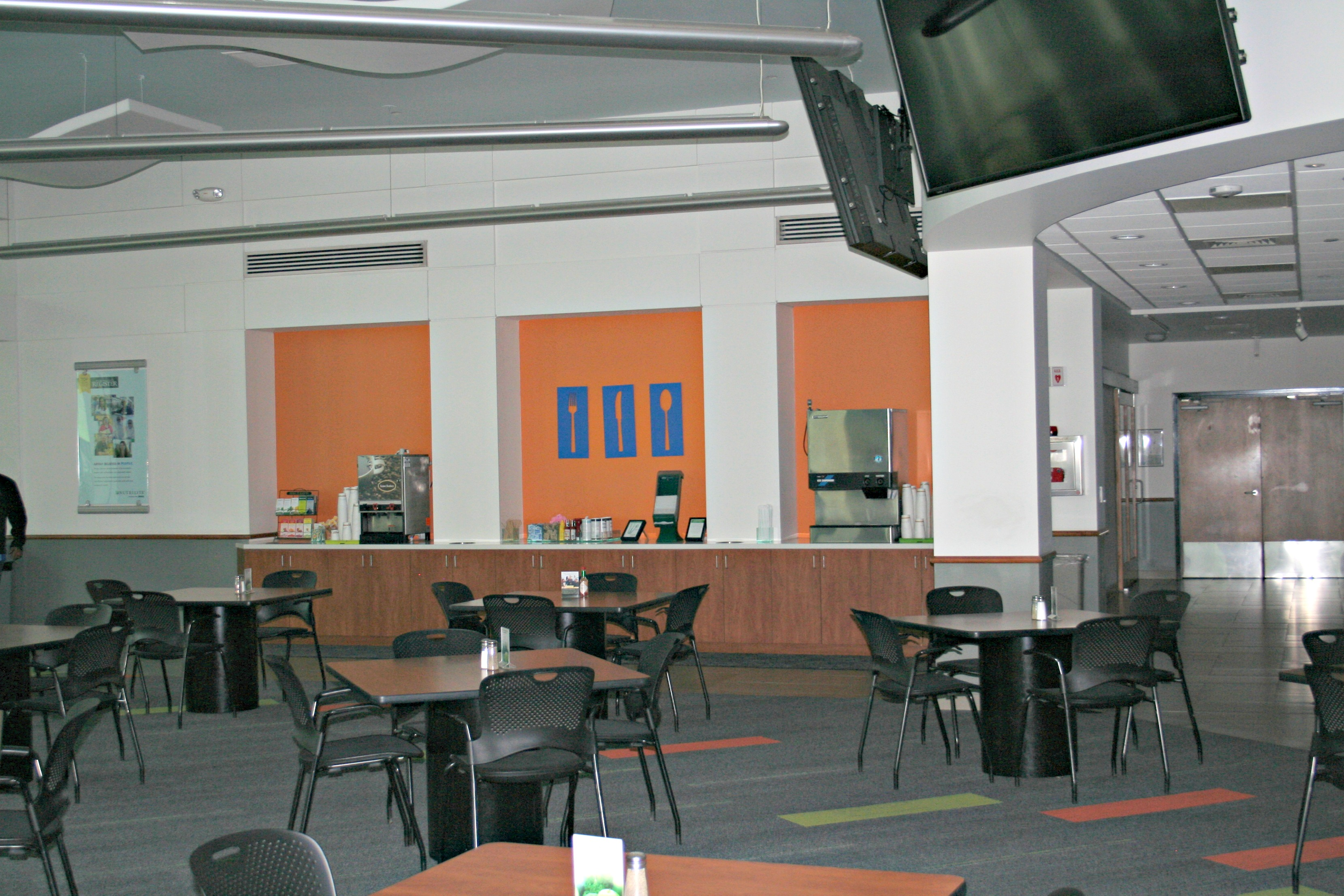 food services facility employee cafeteria