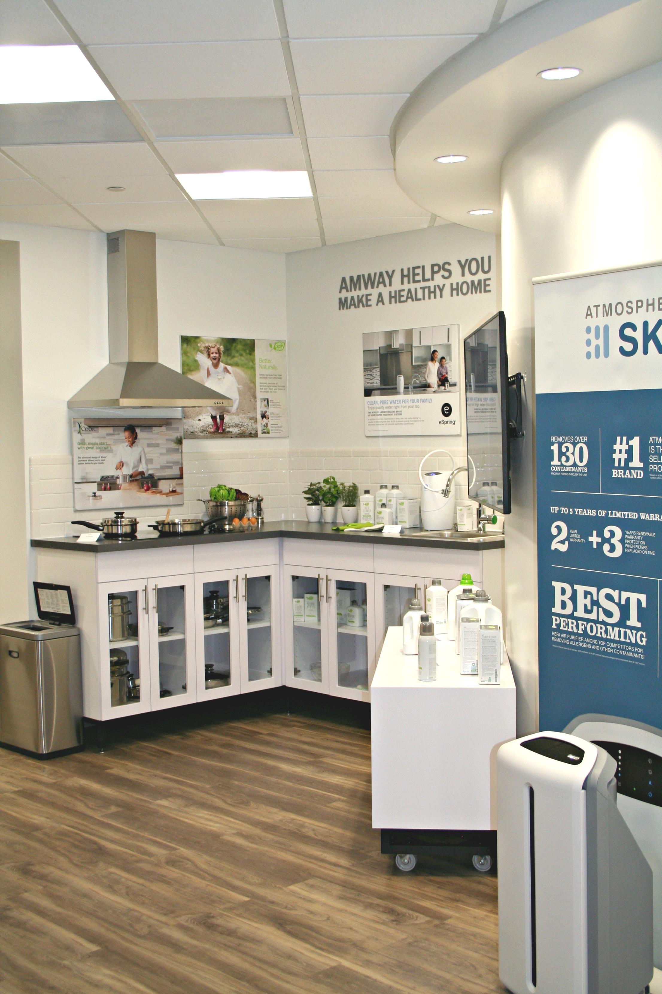 marketing kitchen display
