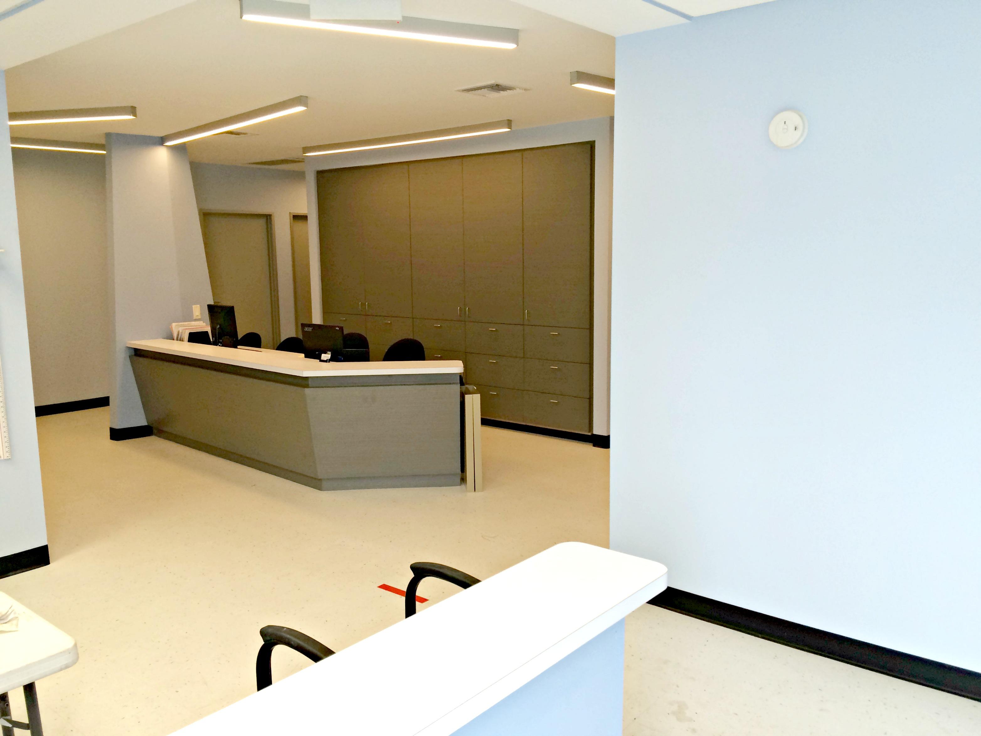 medical office nurses station